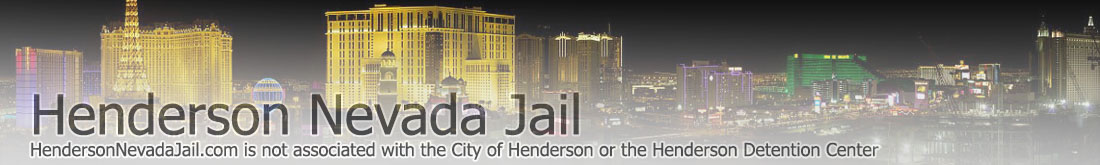 Henderson Nevada Jail header image